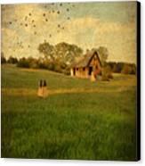 Rural Cottage Canvas Print by Jill Battaglia