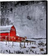Rural Textures Canvas Print by Evelina Kremsdorf