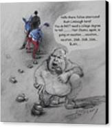 Rush Limbaugh After Obama  Canvas Print by Ylli Haruni