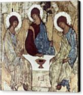Russian Icons: The Trinity Canvas Print by Granger