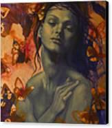 Rustle Canvas Print by Dorina  Costras