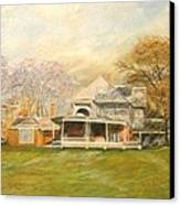 Sagamore Hill Canvas Print by Nicholas Minniti