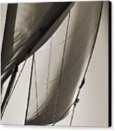 Sailing Beneteau 49 Sloop Canvas Print by Dustin K Ryan