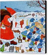 Saint Nicholas Canvas Print by Christian Kaempf