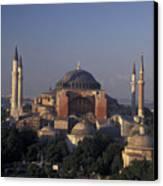 Saint Sophia Hagia Sophia Canvas Print by Richard Nowitz