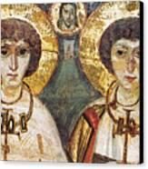 Saints Sergius And Bacchus Canvas Print by Granger