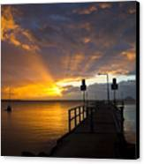 Salamander Bay Sunrise Canvas Print by Avalon Fine Art Photography