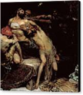 Samson Canvas Print by Solomon Joseph Solomon