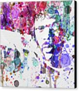 Samuel L Jackson Pulp Fiction Canvas Print by Naxart Studio