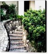 San Antonio Stairway Canvas Print by Will Borden