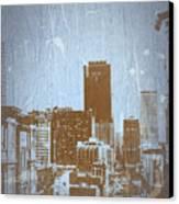 San Francisco 2 Canvas Print by Naxart Studio