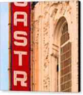 San Francisco Castro Theater Canvas Print by Wingsdomain Art and Photography