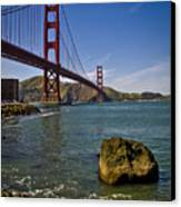 San Francisco Canvas Print by Niels Nielsen