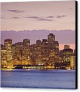 San Francisco Skyline Canvas Print by Bryan Mullennix