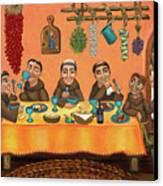 San Pascuals Table 2 Canvas Print by Victoria De Almeida