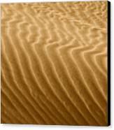 Sand Dune Mojave Desert California Canvas Print by Christine Till