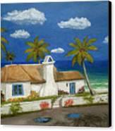 Sandy Point Canvas Print by Gordon Beck