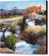 Santa Fe Spring Canvas Print by Candy Mayer