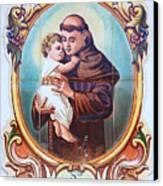 Santo Antonio De Lisboa Canvas Print by Gaspar Avila