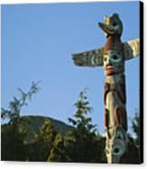 Saxman Totem Park Canvas Print by Greg Vaughn - Printscapes