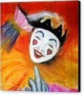 Say It With A Smile Canvas Print by Leonardo Ruggieri