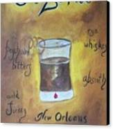 Sazerac Canvas Print by Marian Hebert
