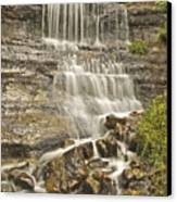 Scenic Alger Falls  Canvas Print by Michael Peychich