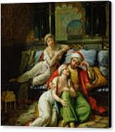 Scheherazade Canvas Print by Paul Emile Detouche