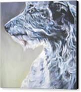 Scottish Deerhound Canvas Print by Lee Ann Shepard