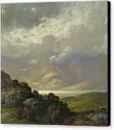 Scottish Landscape Canvas Print by Gustave Dore