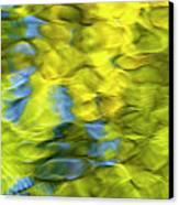 Sea Breeze Mosaic Abstract Art Canvas Print by Christina Rollo