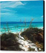 Seagrove Beach Florida Canvas Print by Racquel Morgan