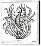 Seahorse Canvas Print by Stephanie Troxell