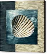 Seashell Souvenir Canvas Print by Lourry Legarde
