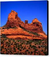 Sedona Rock Formations Canvas Print by David Patterson