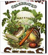 Seed Company Poster, C1800 Canvas Print by Granger