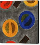 Segments 1 Canvas Print by David Townsend