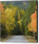 Selkirk Color Canvas Print by Idaho Scenic Images Linda Lantzy