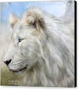 Serengeti Spirit Canvas Print by Carol Cavalaris