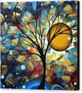 Serenity Falls By Madart Canvas Print by Megan Duncanson