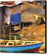 Shada District Canvas Print by Bob Salo