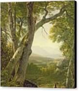 Shandaken Ridge - Kingston Canvas Print by Asher Brown Durand