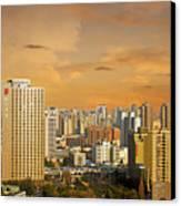 Shanghai - Paris Of The East Canvas Print by Christine Till