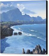 Shipwreck Beach Canvas Print by Ian Henderson