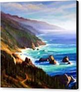 Shore Trail Canvas Print by Frank Wilson