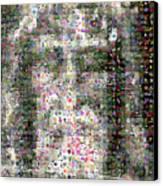 Shroud Of Turin Canvas Print by Gilberto Viciedo