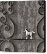 Silver Nostalgia Canvas Print by Jeff  Gettis
