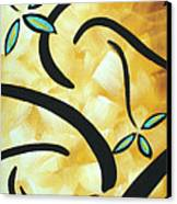 Simply Glorious 2 By Madart Canvas Print by Megan Duncanson