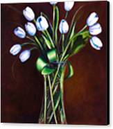 Simply Tulips Canvas Print by Shannon Grissom