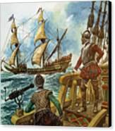 Sir Francis Drake Canvas Print by Peter Jackson